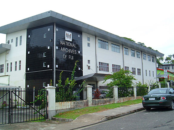 National Archives of Fiji.