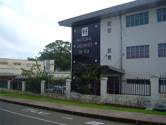 The National Archives of Fiji.