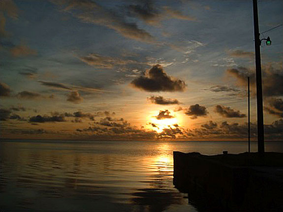 A Palauan Sunset.